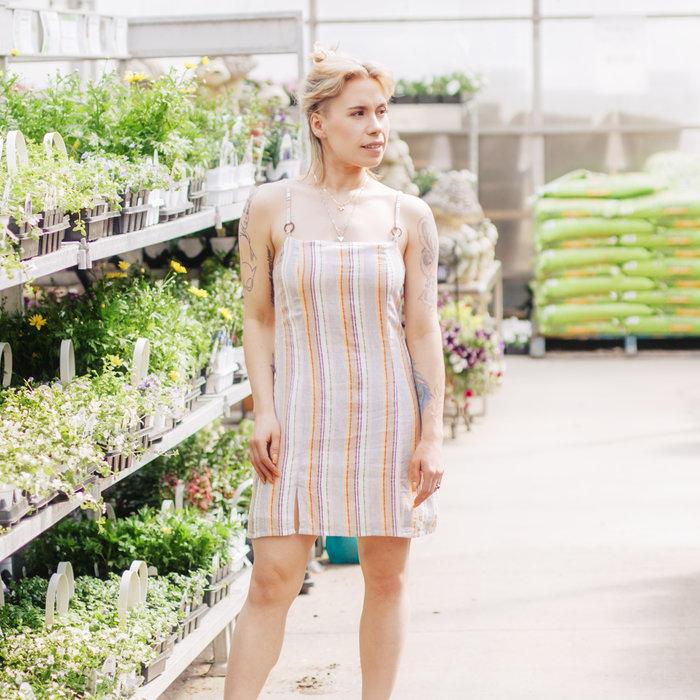Mahi Step Hem Mini Dress