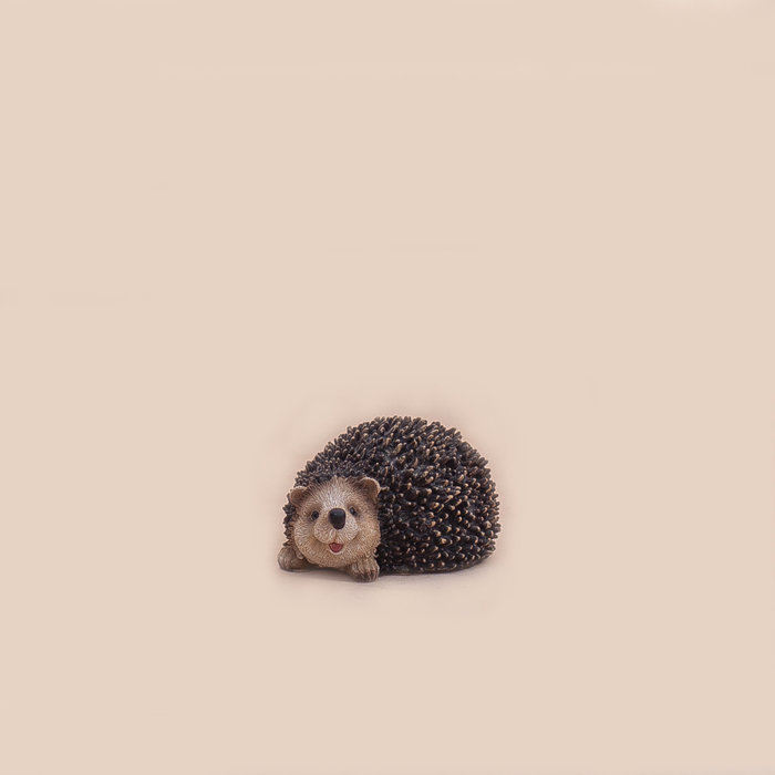 Resin Hedgehog Figurine 4.5""