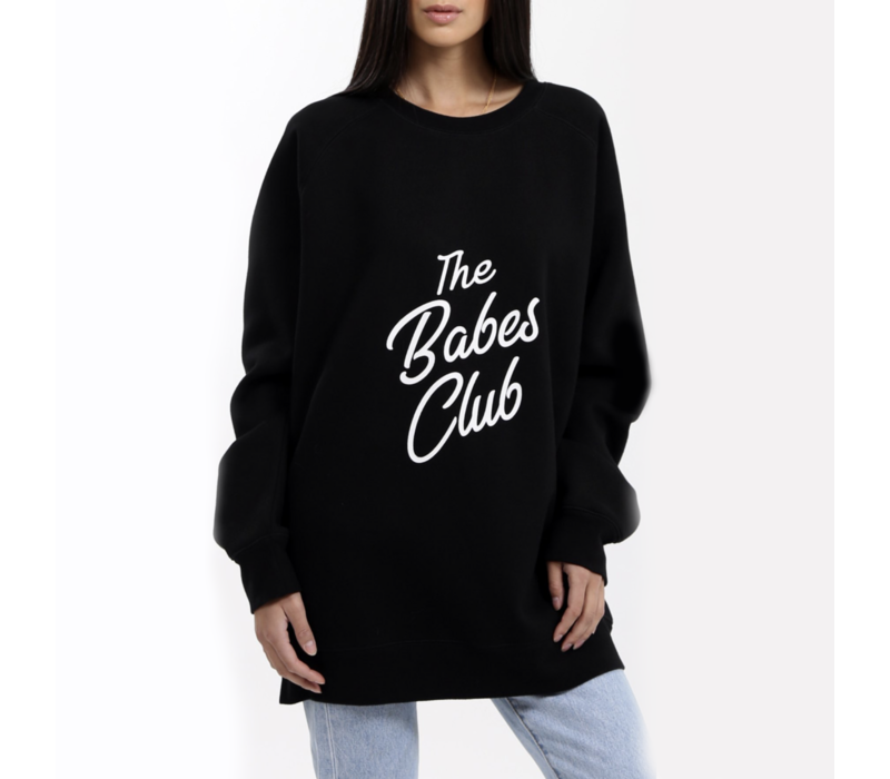 Babes Club Big Sister Oversized Crew