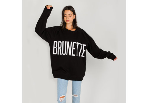 Brunette The Label Brunette Big Sister Oversized Crew