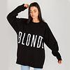 Brunette The Label Blonde Big Sister Oversized Crew