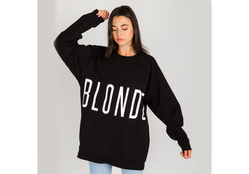 Brunette The Label Blonde Big Sister Oversized Crew
