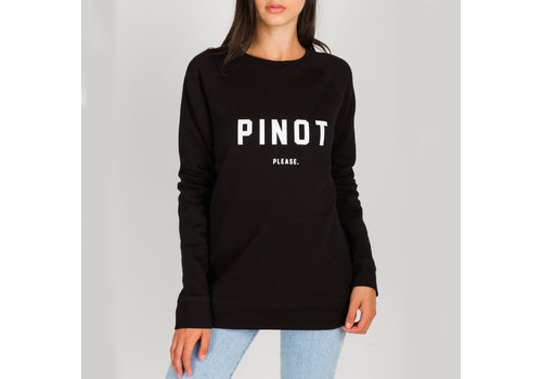 Brunette The Label Pinot Please Crew