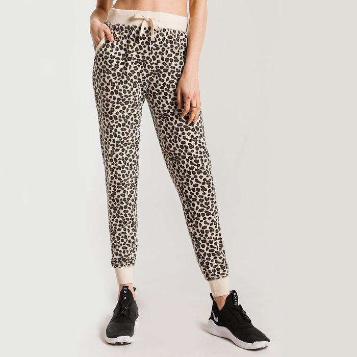 Multi Leopard Jogger