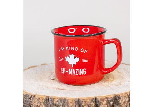 Canada Eh Enamel Mug