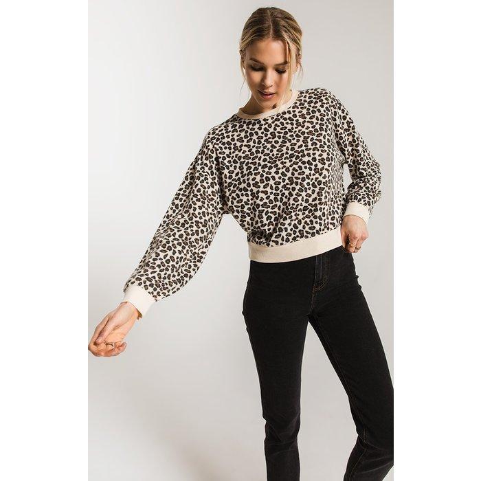 Multi Leopard Pullover