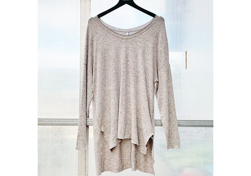 Z Supply Marled Knit V Neck Tunic