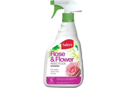 Safers Rose and Flower Insecticide RTU 1L