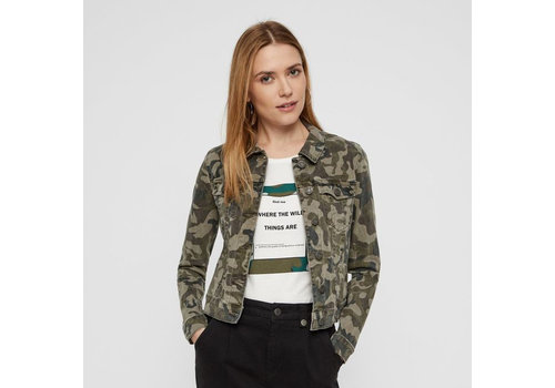 Noisy May Debra Camo Jacket