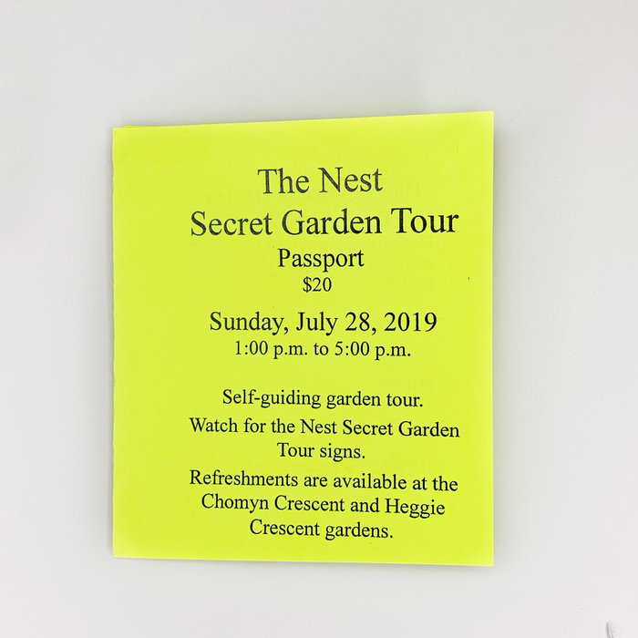 Nest Secret Garden Tour 2019