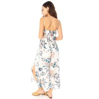 The Front Maxi Dress With Ruffle