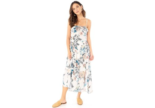 Saltwater Luxe The Front Maxi Dress With Ruffle