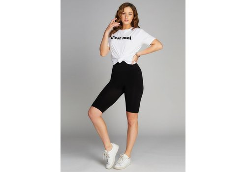 C'est Moi High Waisted Long Shorts