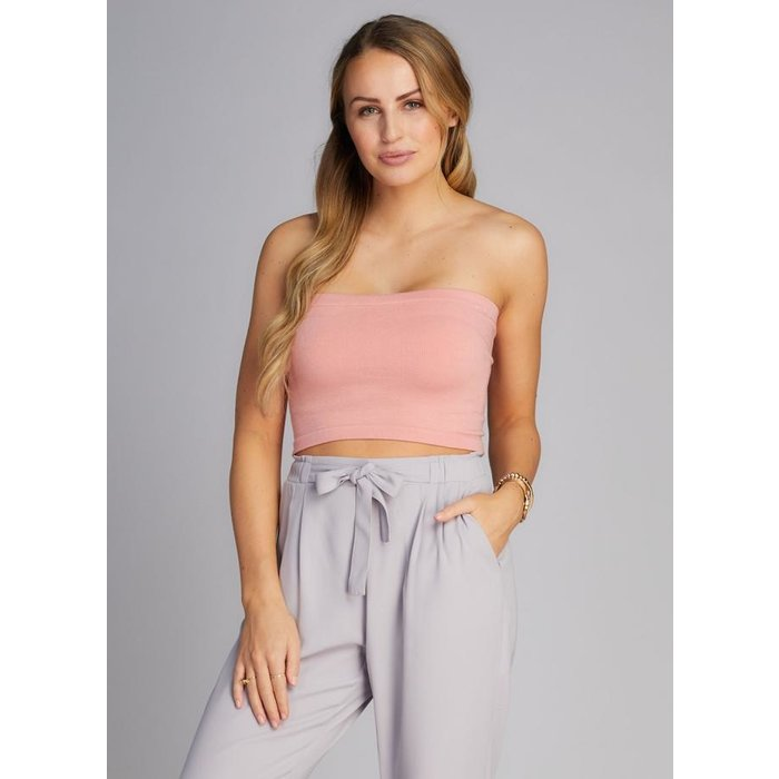 Bamboo Crop Tube Top