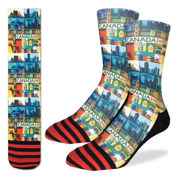 Men's Canada Socks