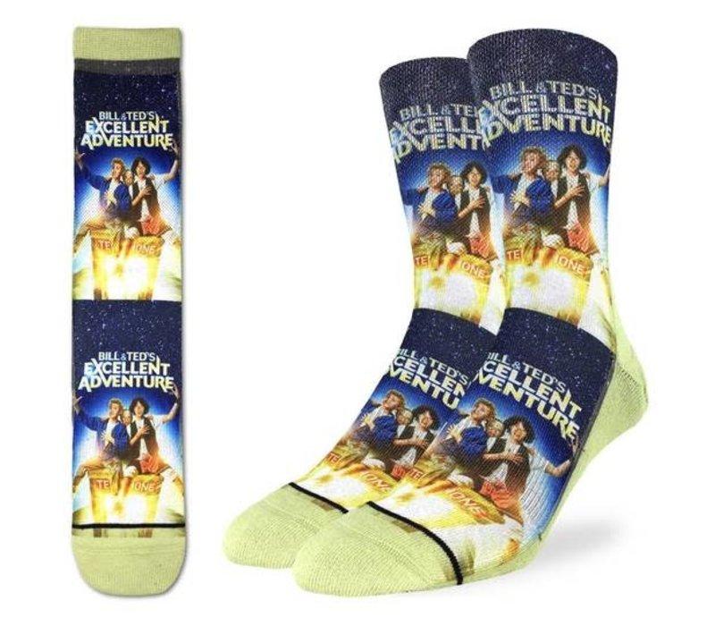 Men's Bill & Ted's Excellent Adventure Socks
