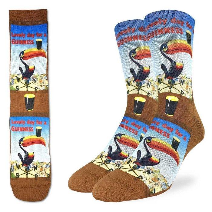 Men's Lovely Day For A Guinness Toucan Socks