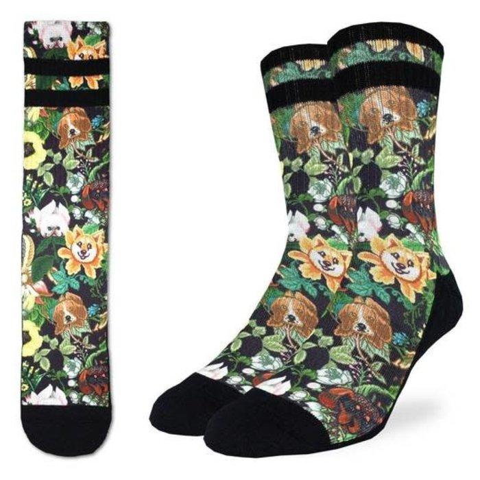 Men's Botanical Dogs Socks