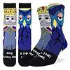 Good Luck Sock Men's Mister Rogers King Friday Socks
