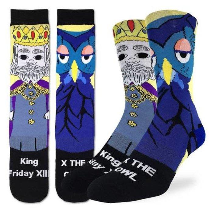 Men's Mister Rogers King Friday Socks
