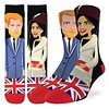 Good Luck Sock Men's Prince Harry & Meghan Markle Socks