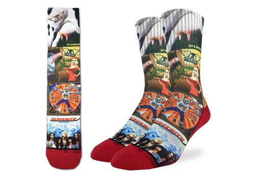 Good Luck Sock Men's Aerosmith Albums Socks