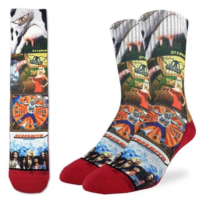 Men's Aerosmith Albums Socks