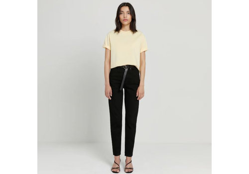 Frank and Oak Stevie High Waisted Tapered Pant