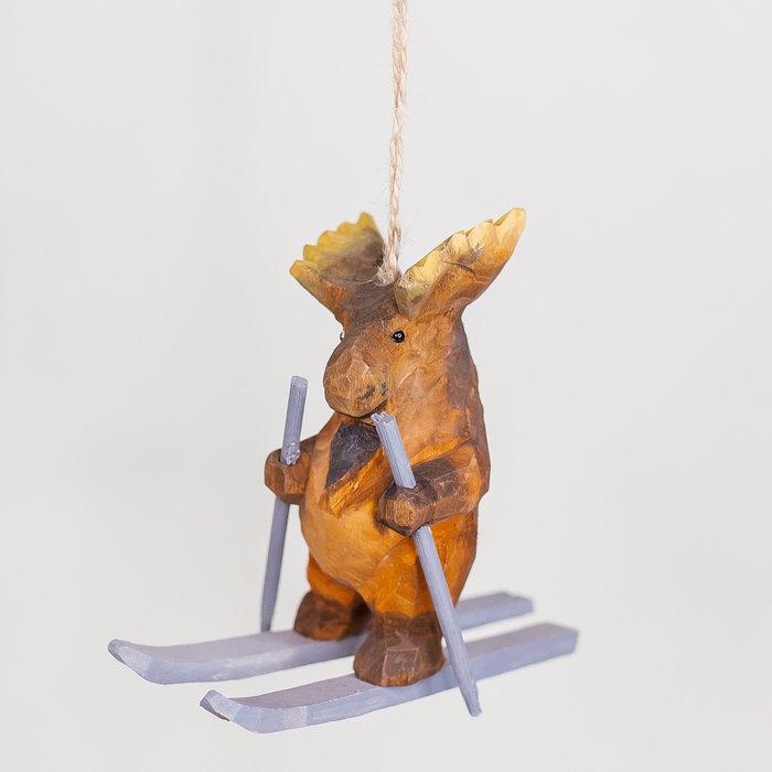 Hanging Ski Moose