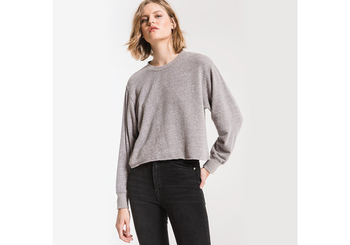 Z Supply Tri-Blend Cropped Tee