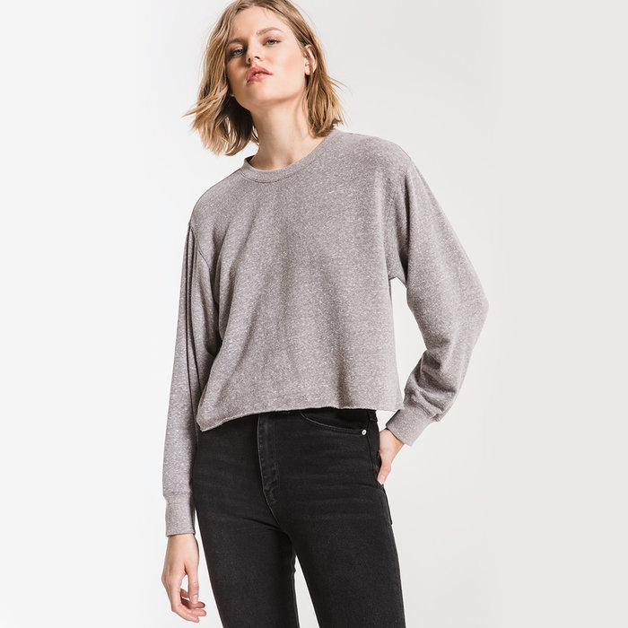 Tri-Blend Cropped Tee