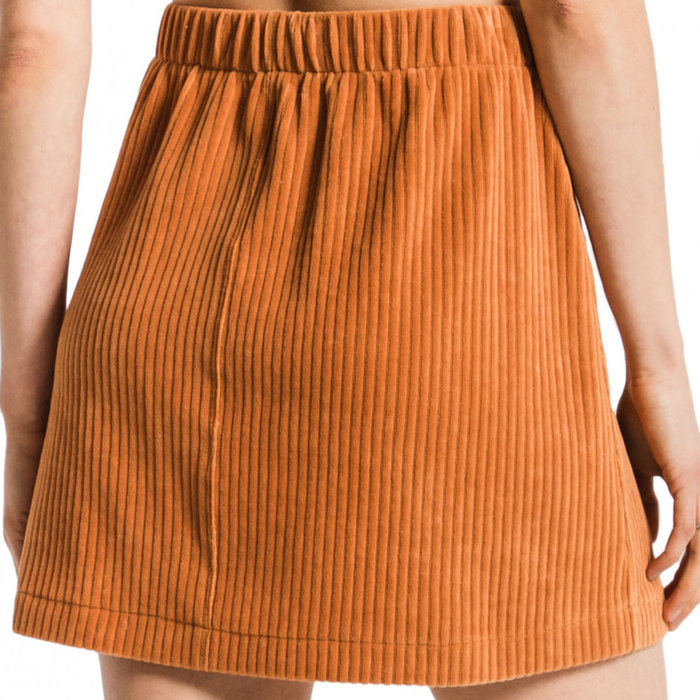 Wide Wale Corduroy Skirt