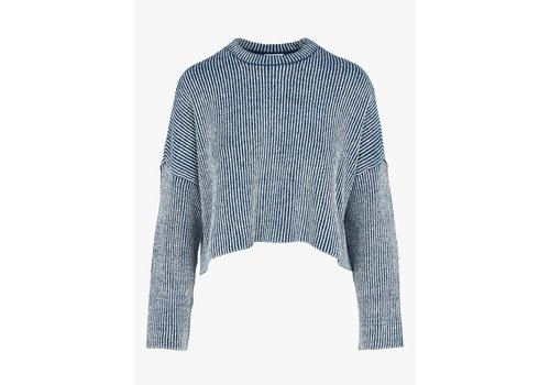Noisy May Elvira O Neck Knit Top