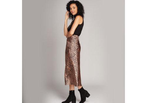 C'est Moi Animal Print Skirt