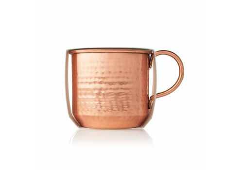 Thymes Poured Candle Copper Mug Simmered Cider