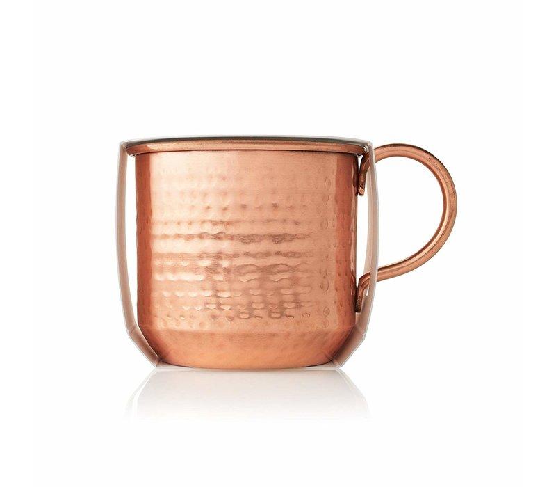 Poured Candle Copper Mug Simmered Cider