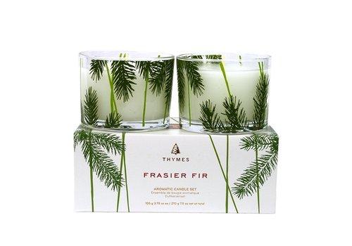 Thymes Frasier Fir Candle Set