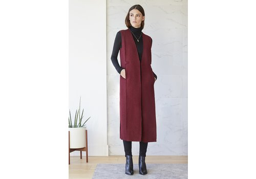 Rebecca King Wool Vest