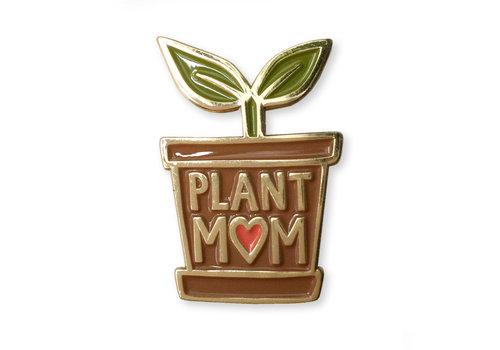 Wit & Whistle Enamel Pin Plant Mom