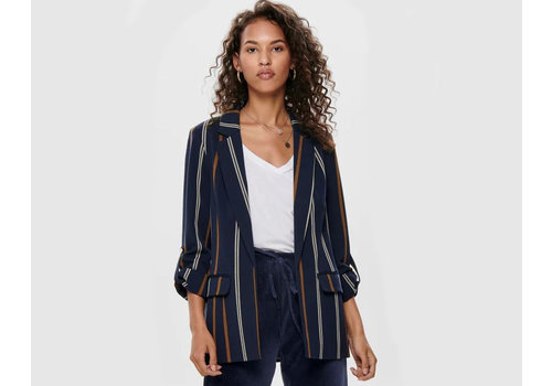 ONLY Mila 3/4 Stripe Blazer