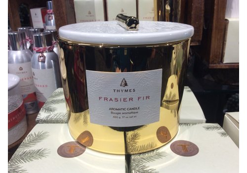 Thymes Gold Poured Candle Frasier Fir