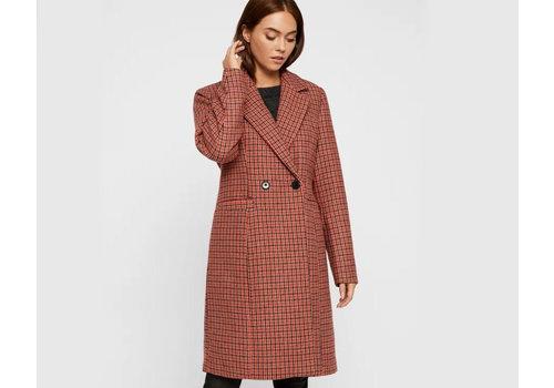 Vero Moda Check Rambla 3/4 Wool Jacket