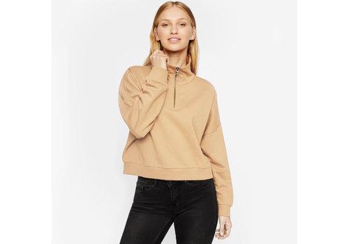 Noisy May Hally Zip Sweater