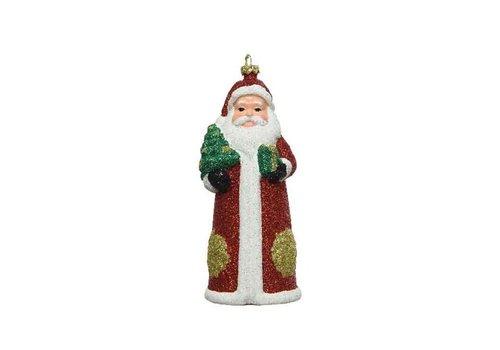 Kaemingk Santa With Hanger Shatterproof