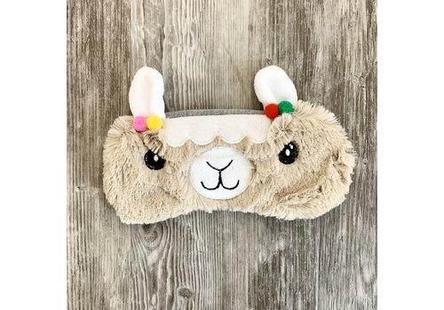 Llama Plush Eye Mask