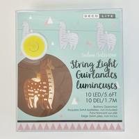 Llama String Light 10-LED