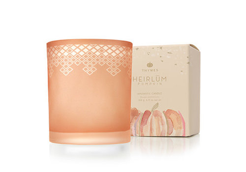 Thymes Poured Candle Heirlum Pumpkin