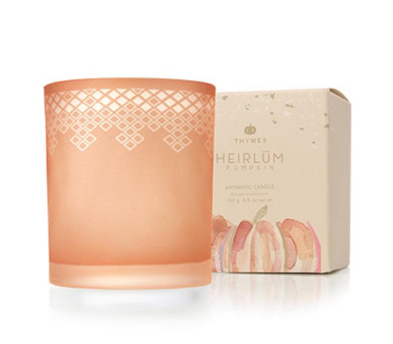 Poured Candle Heirlum Pumpkin