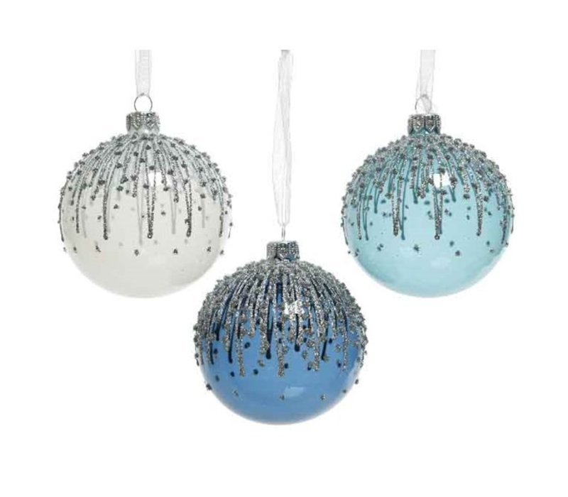 Glitter Lines Bauble