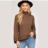 She & Sky Turtleneck Knit Sweater